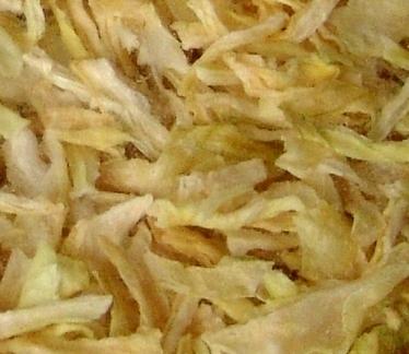 sušená cibule